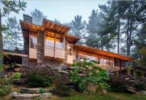 Дизайн-проект частного дома в стиле кантри