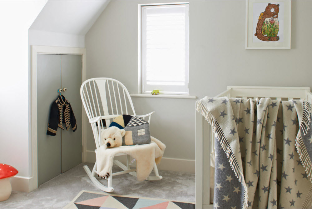 Детская комната в пастельных тонах