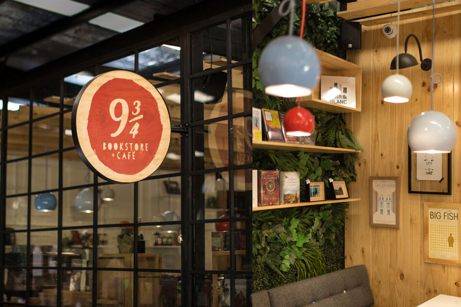 Контрастный и оригинальный дизайн магазина