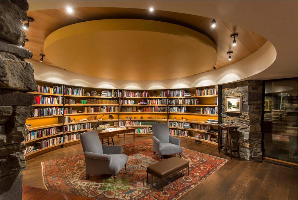 """Дизайн """"круглой"""" библиотеки"""