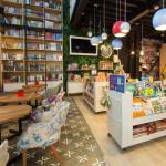 Уникальный дизайн-проект книжного магазина-кафе