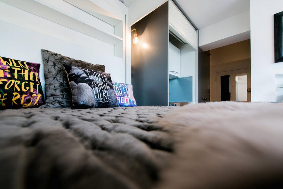 Текстиль для небольшой кровати