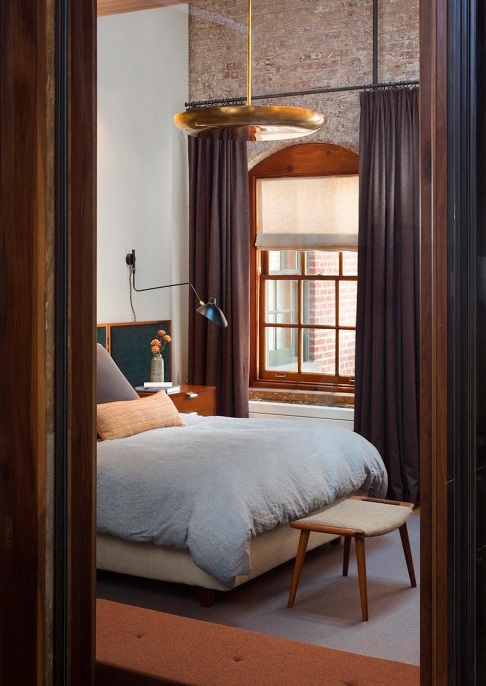 Интерьер спального помещения