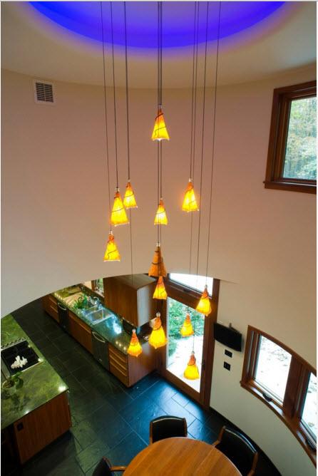 Подвесные светильники для высоких потолков