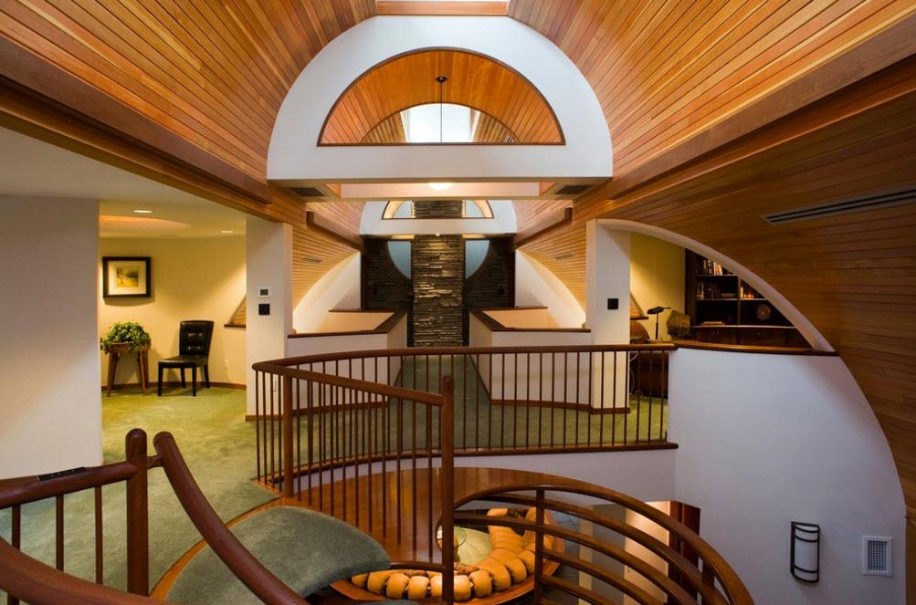Эклектичная архитектура дома