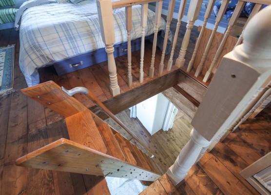 Как сделать лестницу на чердак из дома 879