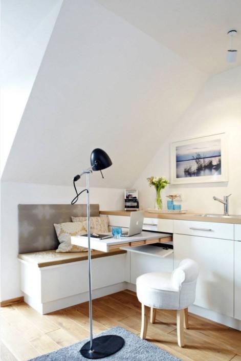 Белоснежный интерьер небольшой квартиры