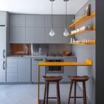 Маленькая квартира – дизайн в серых тонах