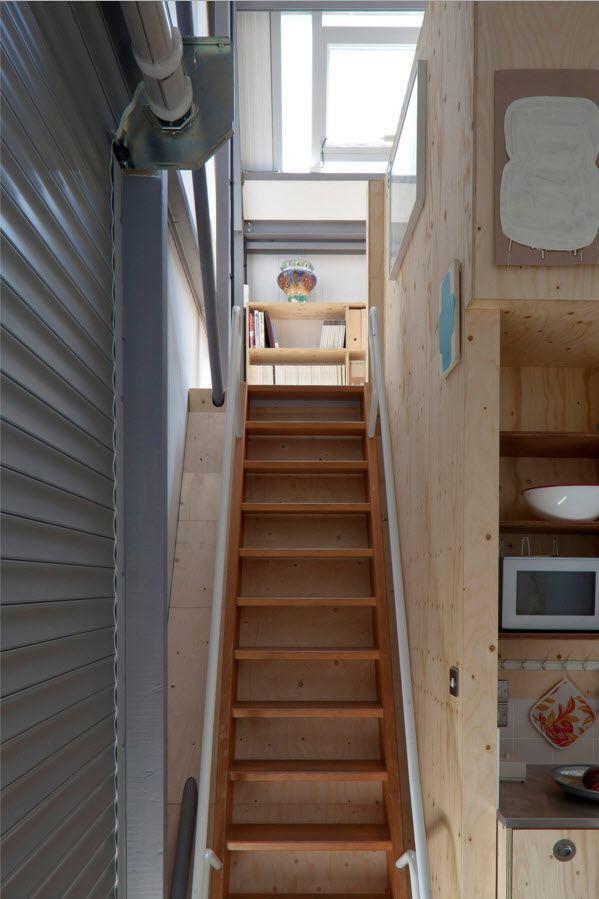 100 лучших фото идей: чердачные и мансардные лестницы