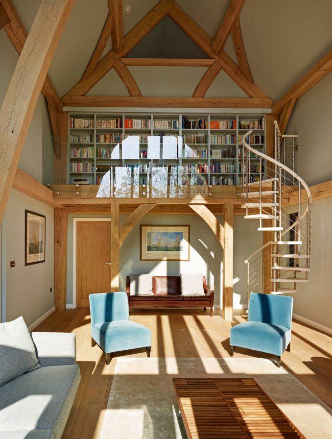 Изящная спиральная лестница