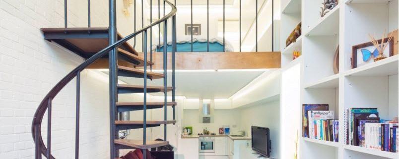 Лестница - конструктивный и стилистический элемент интерьера