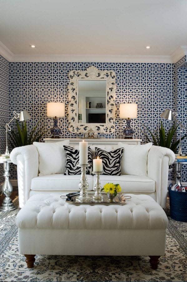 Нео-классика с белой мебелью