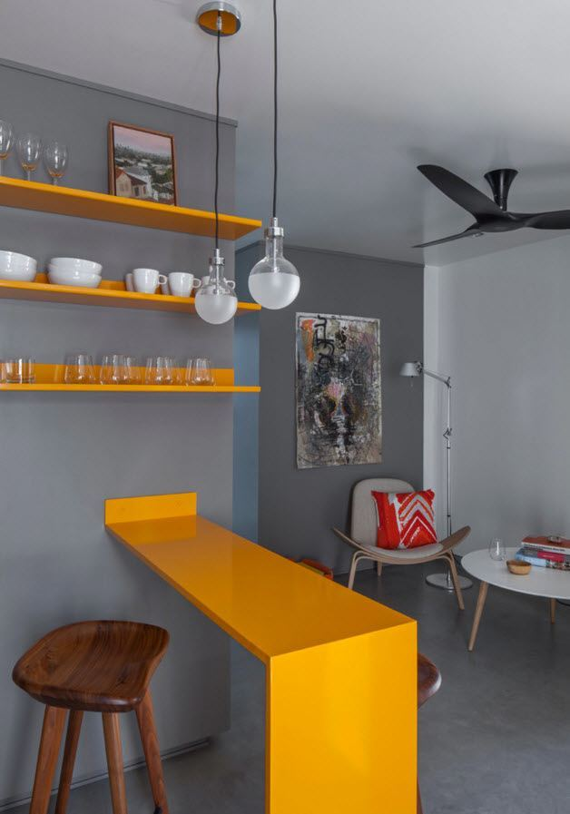 Дизайн проект малогабаритной однокомнатной квартиры