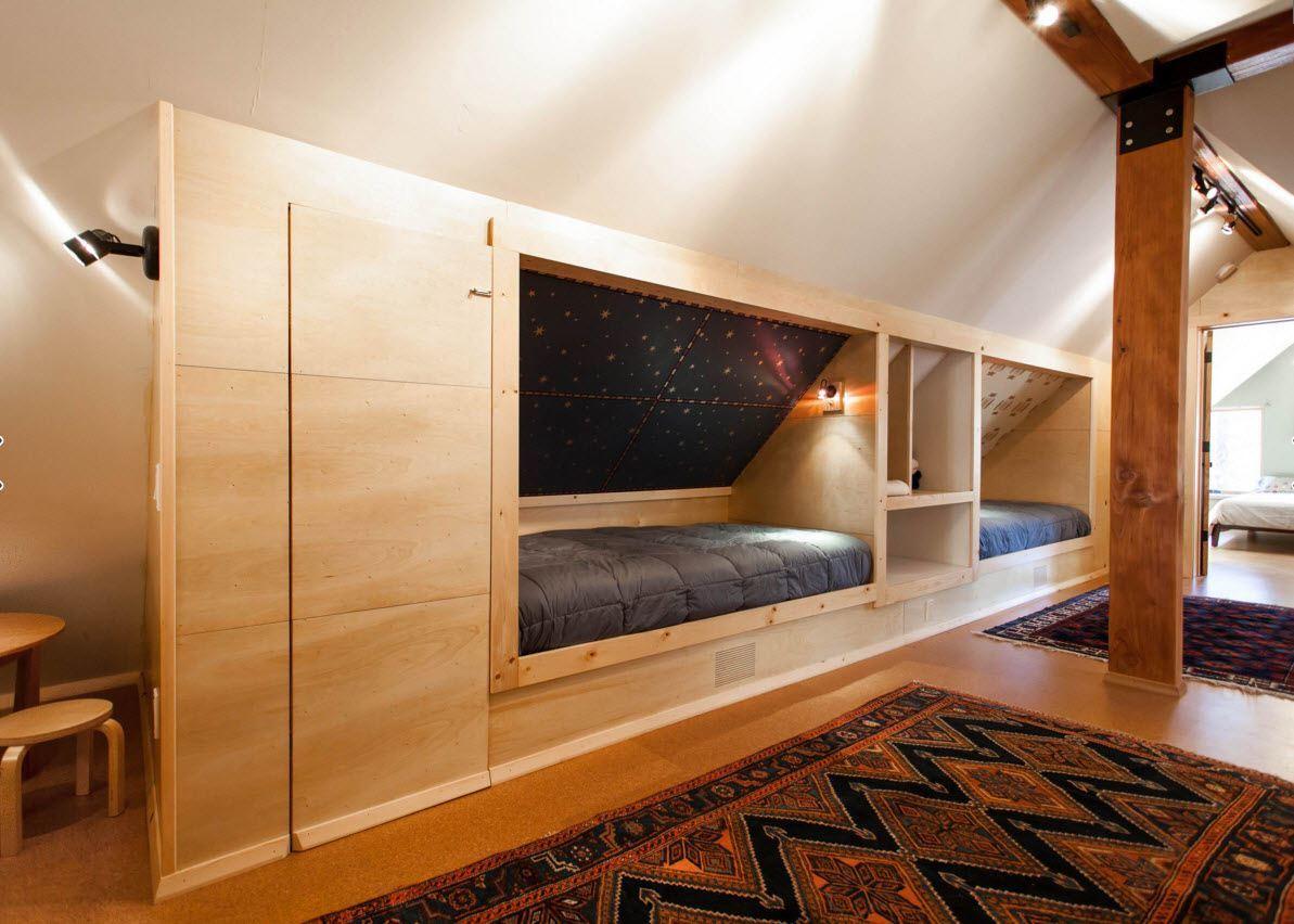 Нетривиальный подход к организации спальных мест