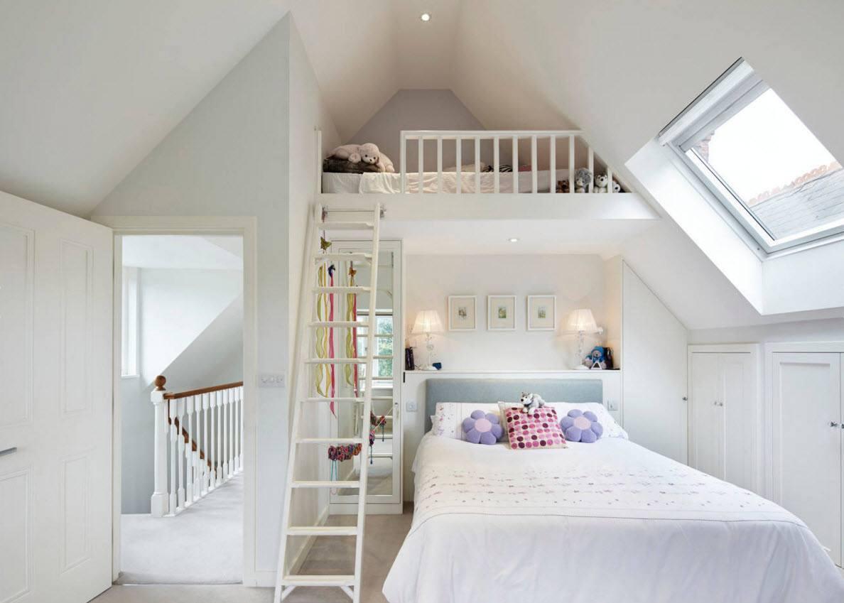 Два спальных места в детской