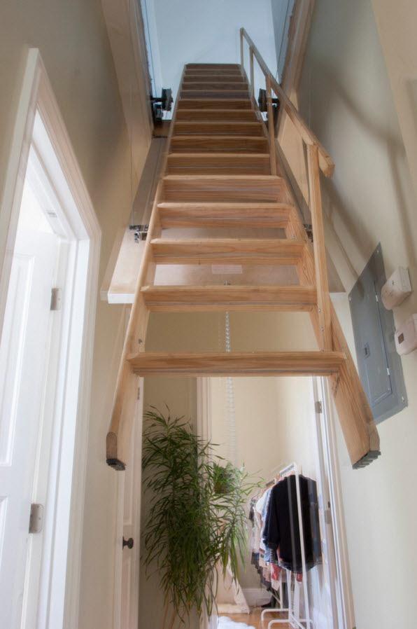 Подъемная лестница
