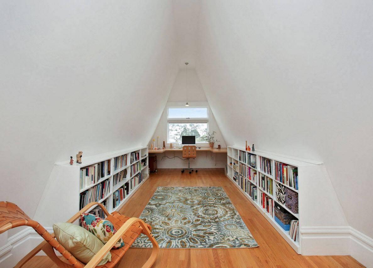 Кабинет и библиотека 2 в 1