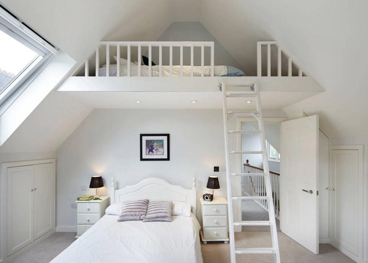 Дополнительная кровать в спальне