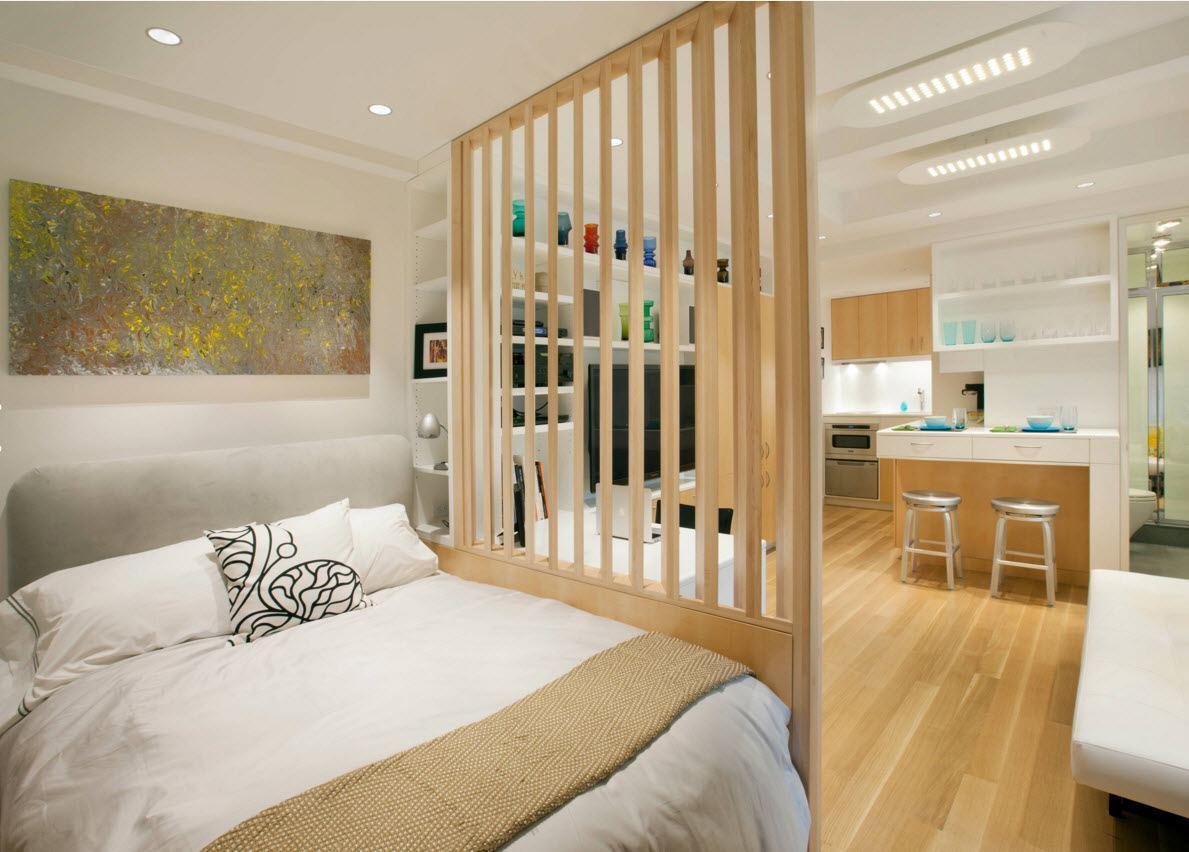 Дизайн небольшой квартиры студии