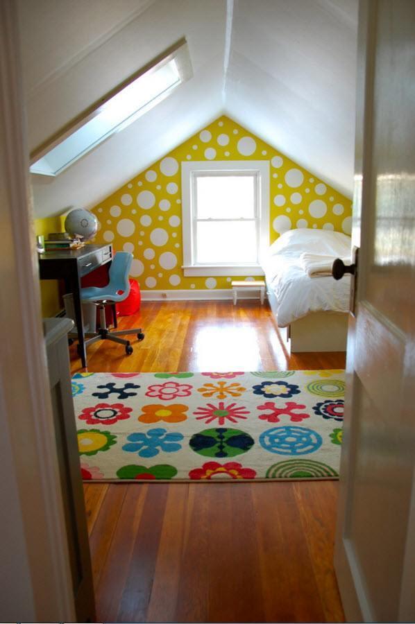 Необычные расцветки для комнаты подростка