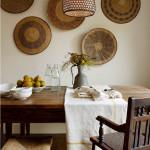 Тарелки на стенах – креативный подход к декорированию