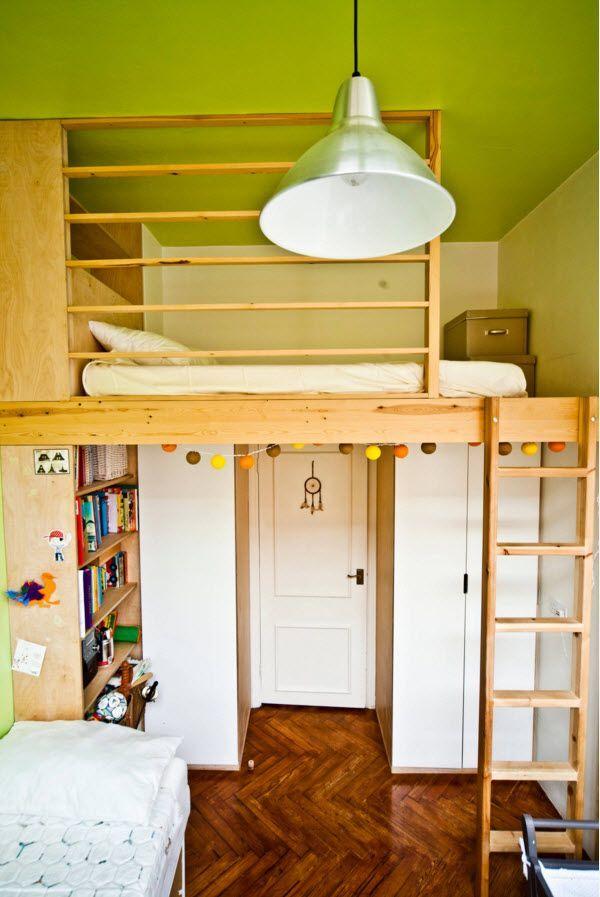 Экономия пространства в небольшой комнате