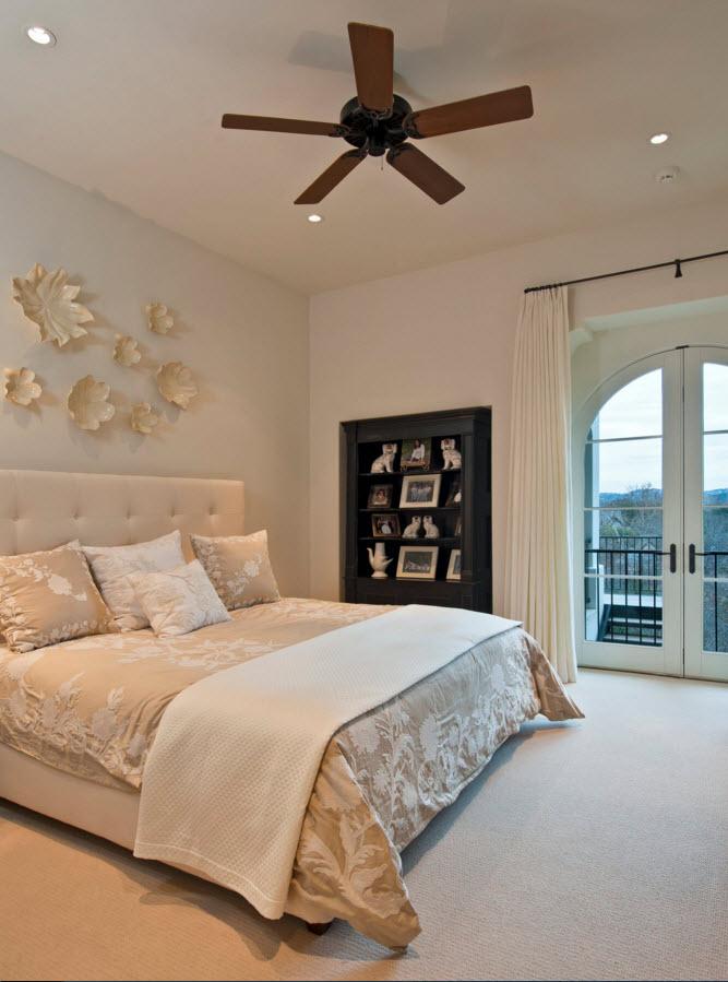 Белоснежные цветы для спальни
