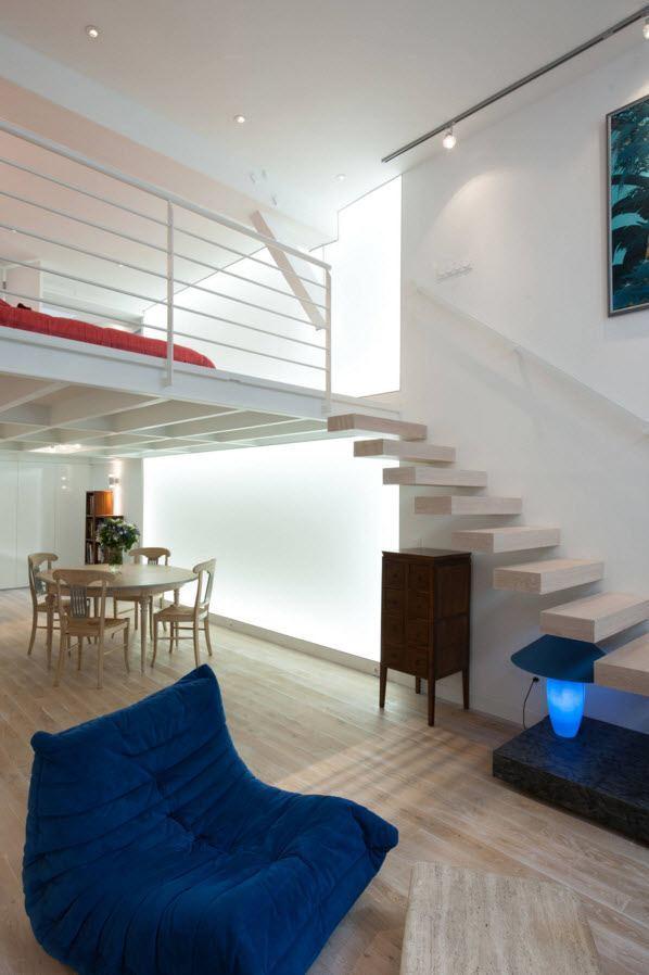 Необычное исполнение лестницы