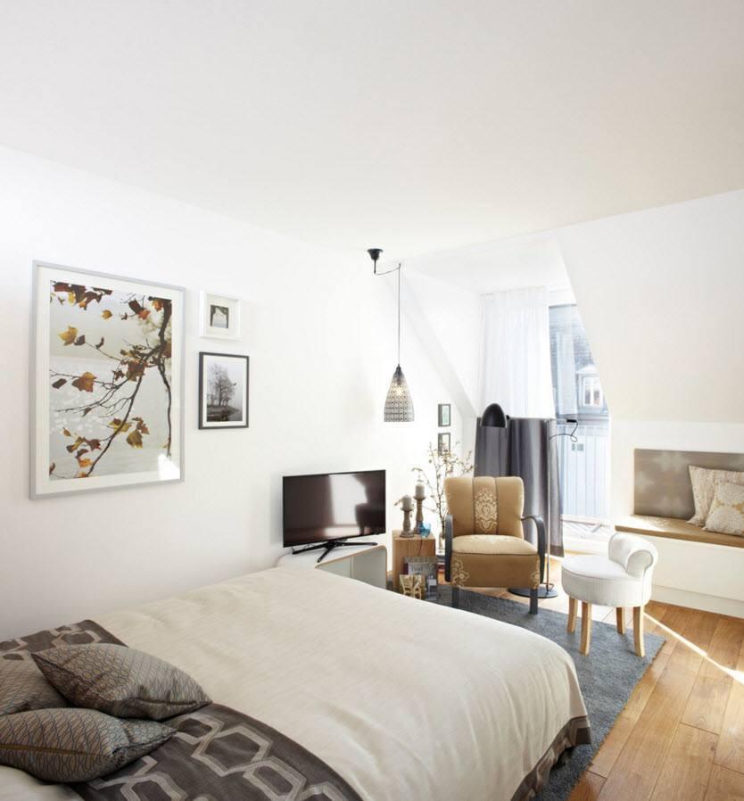 Уютная обстановка общей комнаты