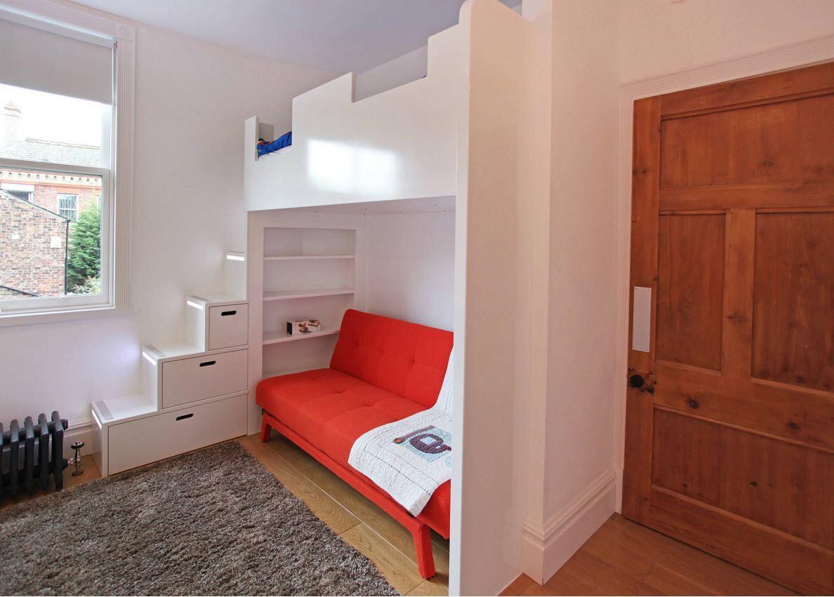 Мебельное решение для небольшого помещения