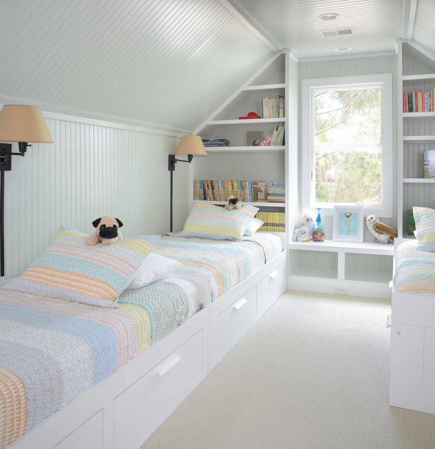 Светлая и оригинальная детская комната
