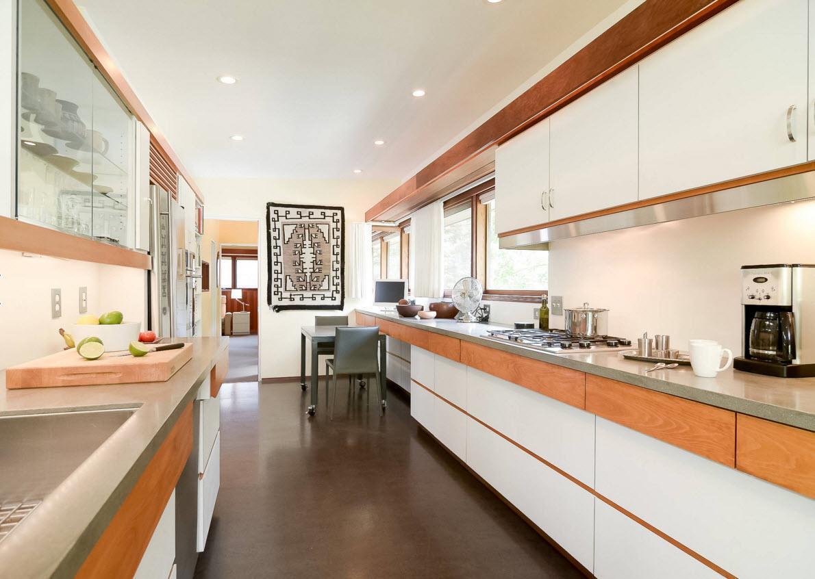Гобелен в кухонном помещении