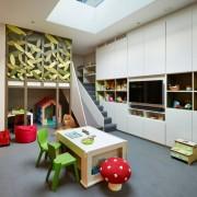 Дизайн детской комнаты в два яруса