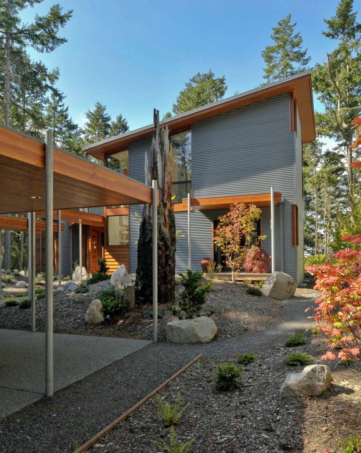 Загородый дом в современном стиле