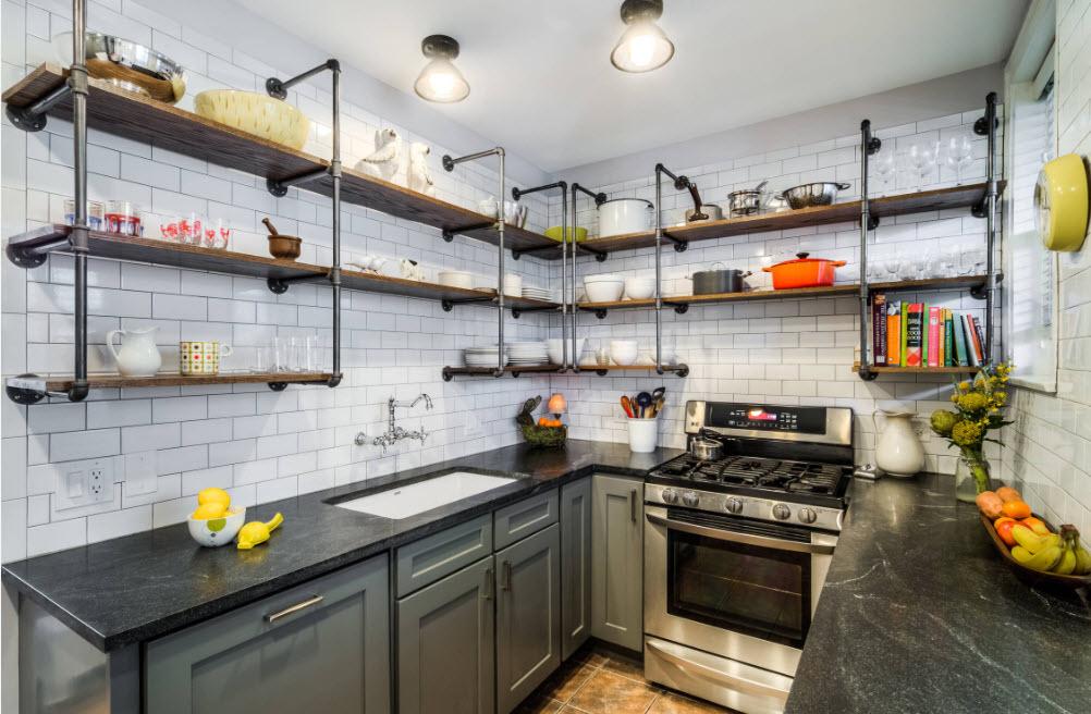 Креативный подход в дизайне кухни