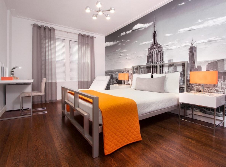 Городской пейзаж для спальни