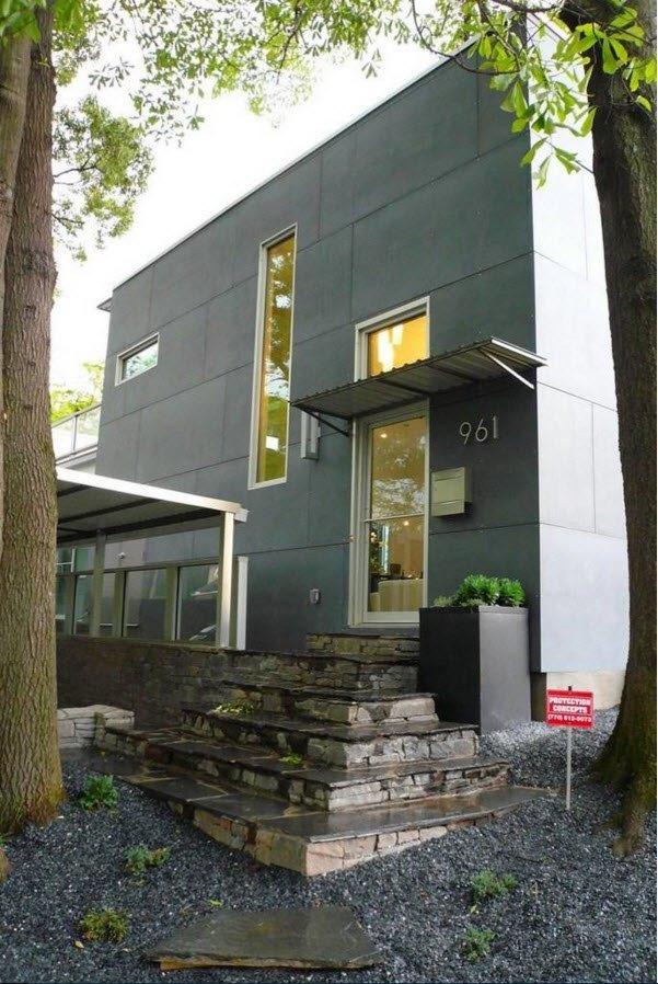 Практичная облицовка фасада