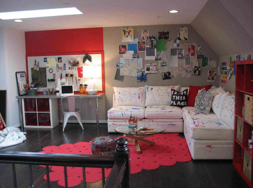 Угловой диван для детской