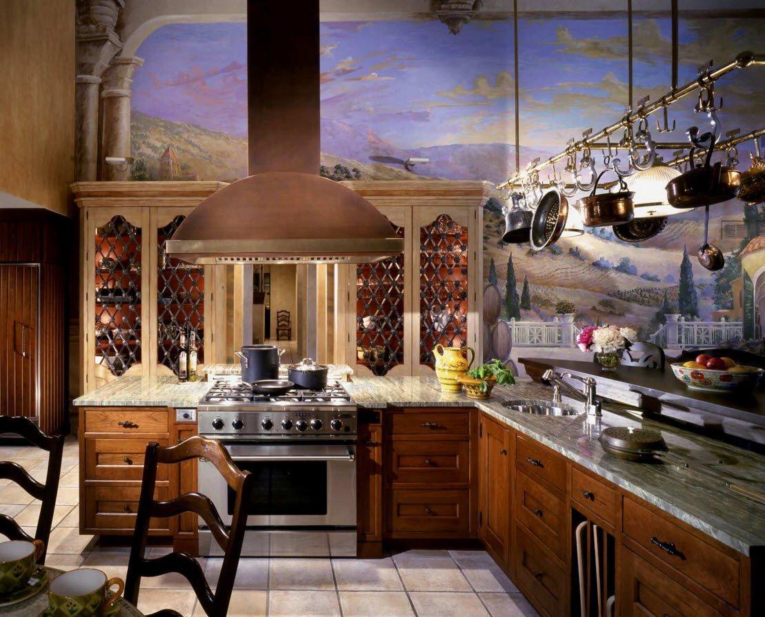 Фотопечать для кухни-столовой