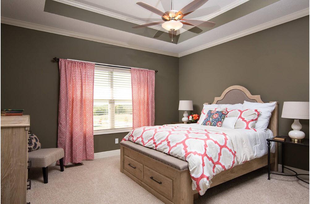 Выбор ткани для окон и кровати