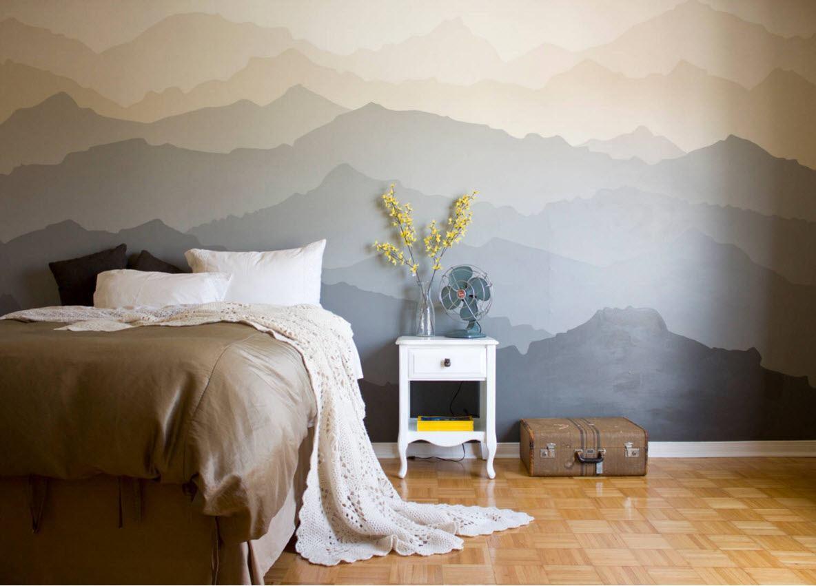 Нейтральные оттенки для спальни