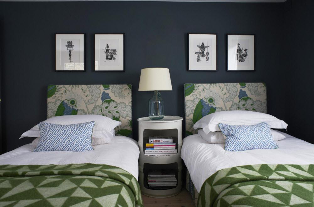 Планировка для двух спальных мест