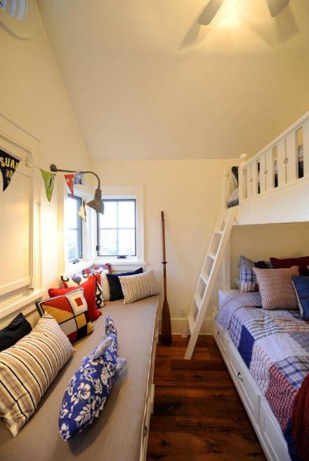 Мягкая зона в маленькой комнате