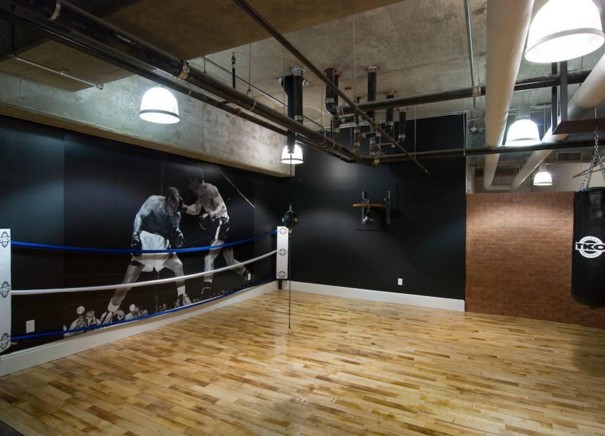 Оформление спортивного зала