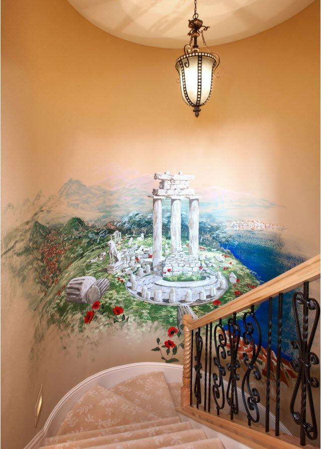 Декор для пространства возле лестницы