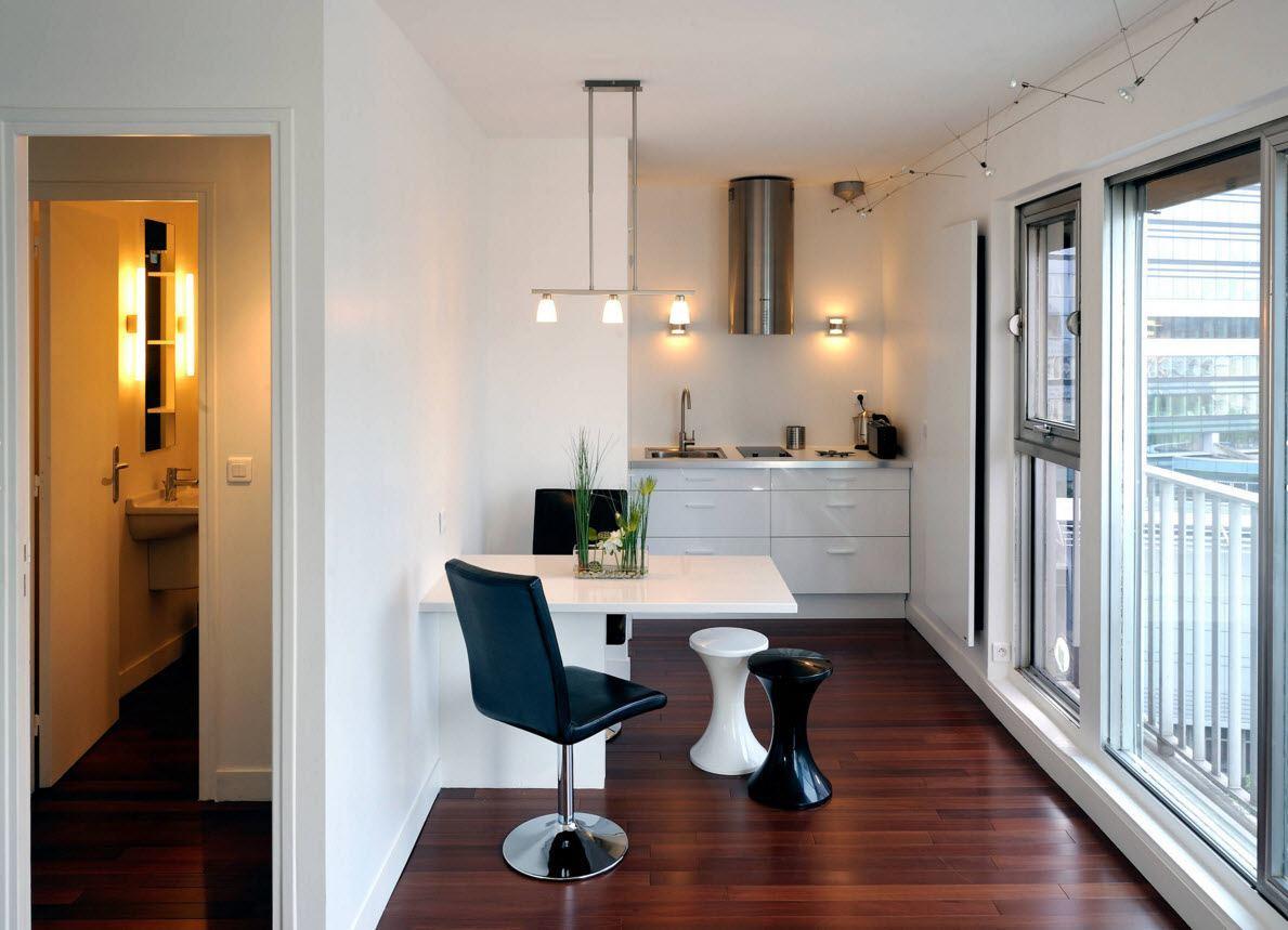 Небольшое кухонное пространство