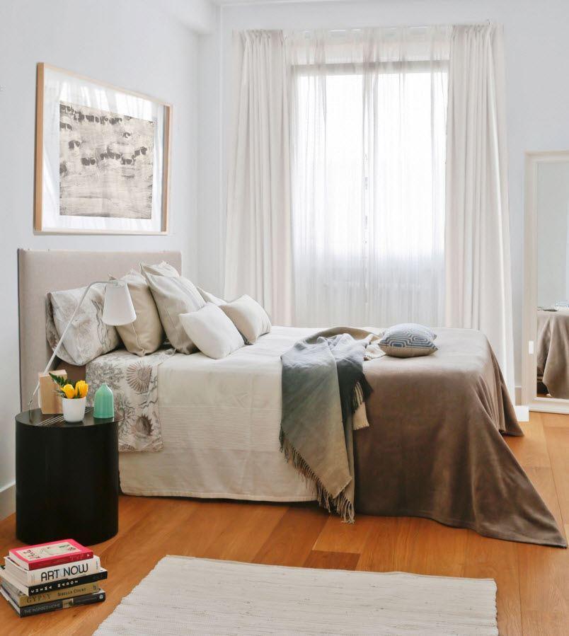 Светлый образ спального помещения