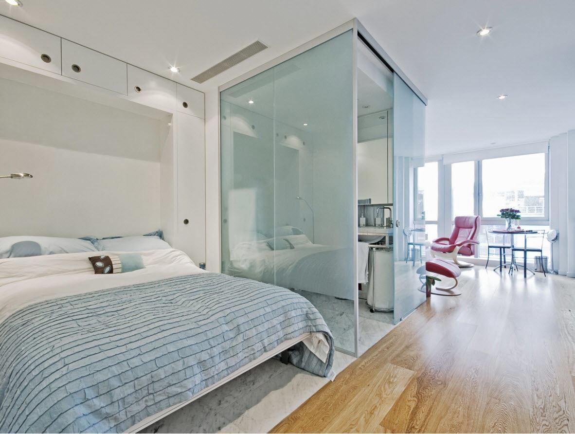Ванная комната за стеклом