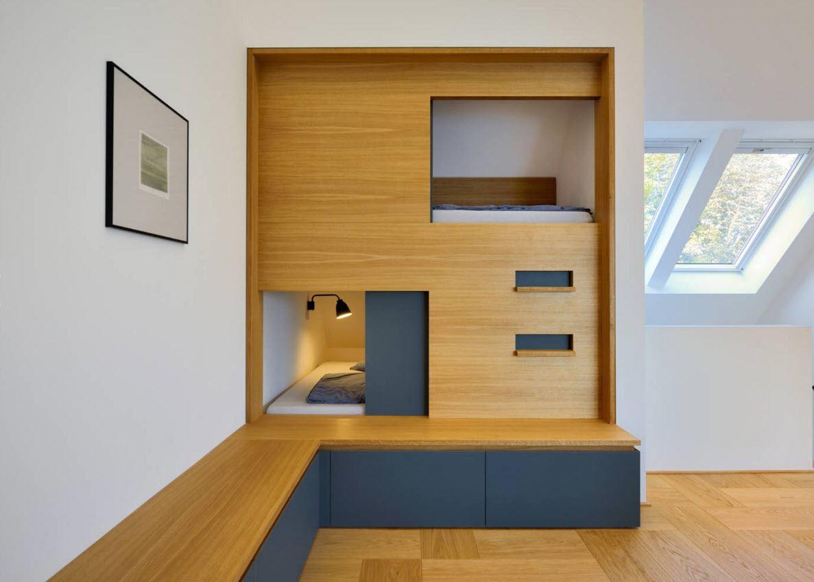 Необычное сооружение на два спальных места