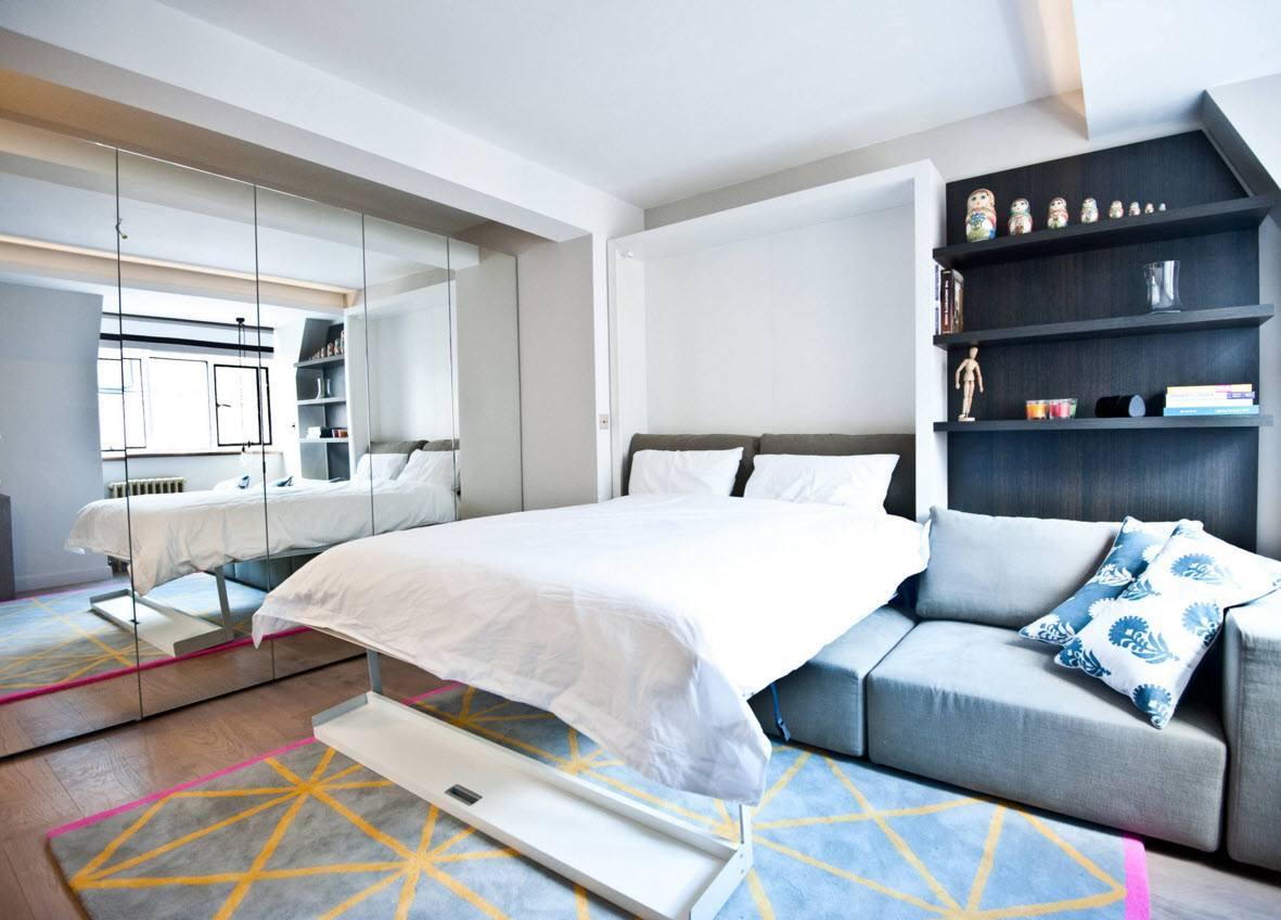 Спальня-гостиная-кабинет